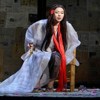 Foto från Madame Butterfly på Nationaloperan.