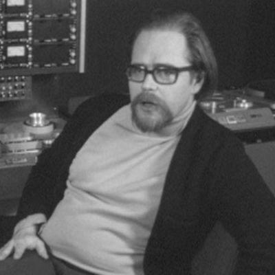 Äänittäjä Erkki Hyvönen Finnvoxin äänitysstudiossa 1973.