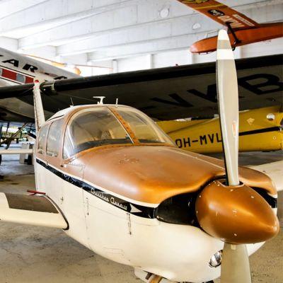 Flygplan i Finlands flygmuseum