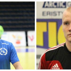 Sebastian Säkkinen och Robin Sjöman
