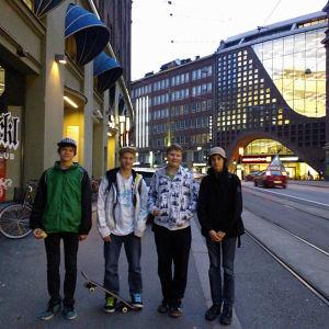 Alex Felixson, Chris Kiuru, Georgy Jagonen, Akseli Anttonen