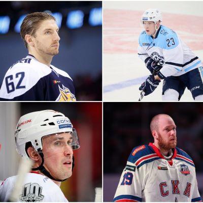 Oskar Osala, Joonas Kemppainen, Teemu Hartikainen, Sami Lepistö, Mikko Koskinen och Juuso Hietanen.