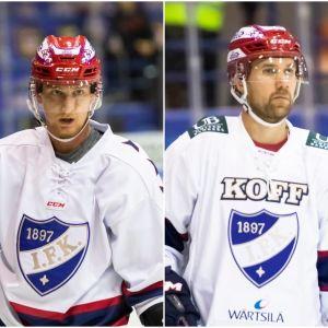 Henrik Koivisto, Ilmari Pitkänen och Elias Fälth.