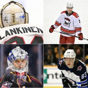 Kevin Lankinen, Janne Kuokkanen, Aleksi Saarela, Veini Vehviläinen, Sami Niku och Eeli Tolvanen.