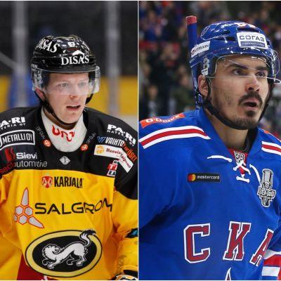 Jakub Krejcik, Nail Jakupov och Harri Pesonen.