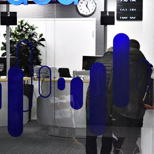 Nordean pankkikonttori Helsingissä 27. joulukuuta 2017.