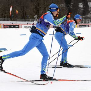 Iivo Niskanen (vas.) ja Martti Jylhä