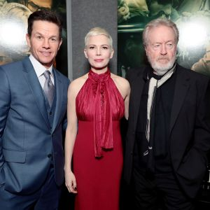 Mark Wahlberg, Michelle Williams ja Ridley Scott