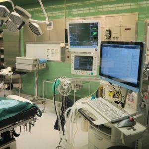 Kanta-Hämeen keskussairaalan leikkaussali