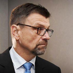 Matti Nissinen virkarikossyytteidensä käsittelyssä korkeimmassa oikeudessa.