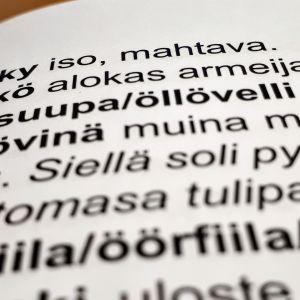 Ö-kirjaimella alkavia sanoja Oulun murteen sanakirjassa