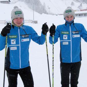 Yhdistetyn hiihtäjät Wille ja Waltteri Karhumaa, Ounasvaaran Hiihtoseura
