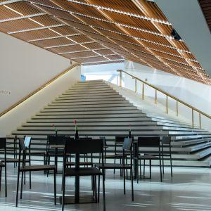 Kuopion kaupunginteatterin aula.