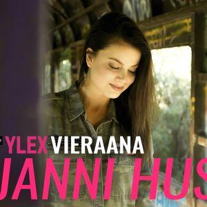 Janni Hussi vieraili YleX Aamussa