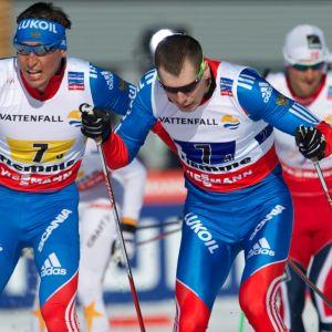 Alexander Legkov ja Sergei Ustjugov.