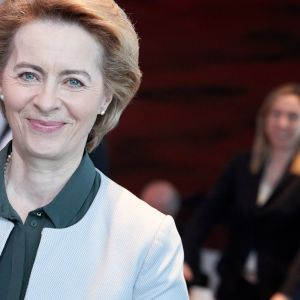 Saksan puolustusministeri Ursula von der Leyen