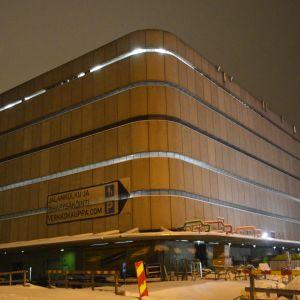 Verkkokaupan bunkkeri rakennus Jätkäsaaressa