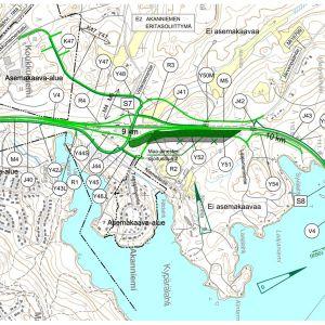 Destia rakentaa Äänekosken pohjoispuolelle eritasoliittymän ja viisi kilometriä uutta tietä.