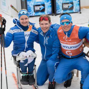 Pyeongchangin paralympialaisten sekaviestijoukkue