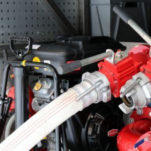 Paloauton pumppu