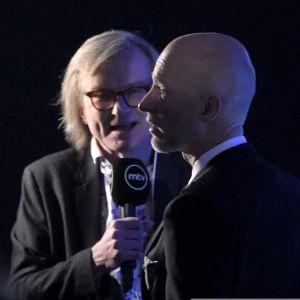 Ohjaaja Aku Louhimies MTV:n haastattelussa Jussi-gaalan jälkeen.