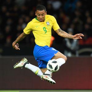 Brasilian Gabriel Jesus