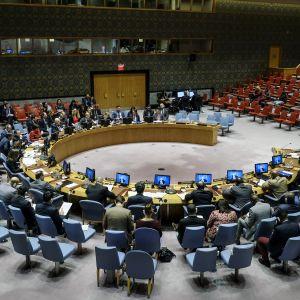 YK:n turvallisuusneuvosto.