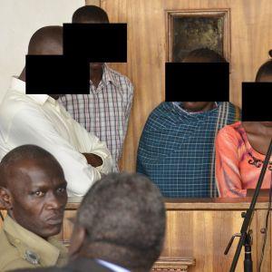 oikeudenkäynti Uganda syytetyt.