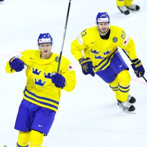 John Klingberg ja Oliver Ekman-Larsson