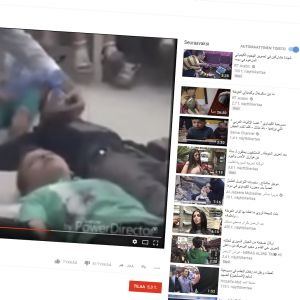 Kuvakaappaus YouTube -videosta.
