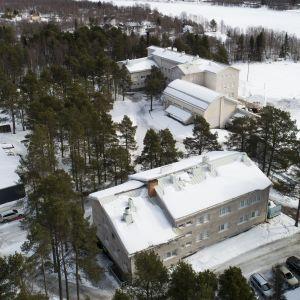Ivalon ala-asteen tontille suunnitellaan suurta koulukeskusta.
