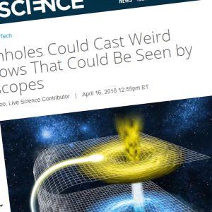 Kuvakaappaus livescience.com sivuston jutusta