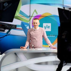 Uutisluokan uutisankkuri Konsta Saranpää.
