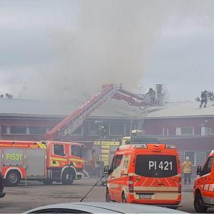 Tulipalo Pirkkalassa