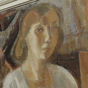 Tove Janssonin omakuva vuodelta 1941.