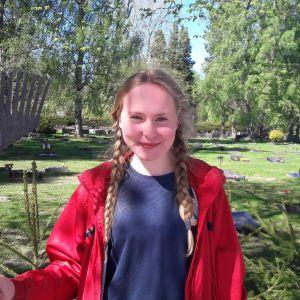 Elsa hautausmaalla