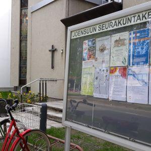 Joensuun seurakuntakeskus.