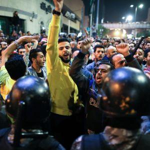 Jordanialaiset osoittivat mieltään Ammanissa.