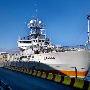 Merentutkimusalus Aranda.