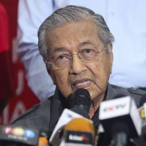 Malesian pääministeri Mahathir Mohamad