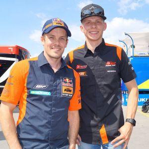 Mika Kallio ja Niki Tuuli