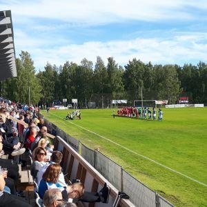 PS Kemi ja RoPS kohtasivat Kemin Sauvosaaressa 21.6.2018.