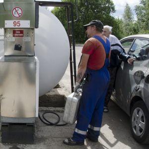 Tankkaajia Svetogorskissa