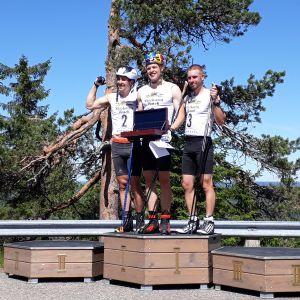 Iivo Niskanen voitti Aateli race -kilpailussa.