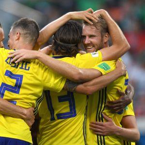 Ruotsin pelaajia