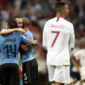 Ronaldo ja Uruguay.
