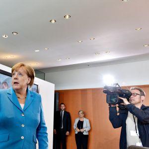 Horst Seehofer ja Angela Merkel.