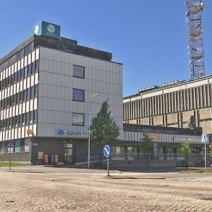 Oulun posti- ja teletalo.