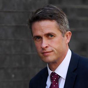 Puolustusministeri Gavin Williamson