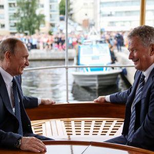Vladimir Putin ja Sauli Niinistö.